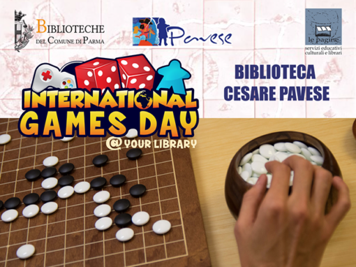 "Torna l'""International Games Day @ your library"" nelle biblioteche di Parma"