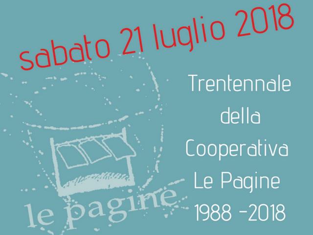 Buon compleanno Le Pagine: a Wunderkammer la festa per i primi 30 anni della Cooperativa