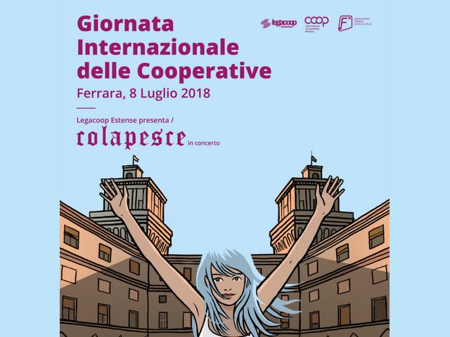 Le Coop di Ferrara in festa per la Giornata Internazionale delle Cooperative, Le Pagine c'è!