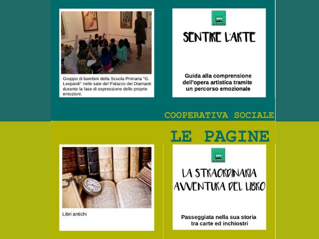 Due nuovi laboratori sull'arte e i libri antichi: la proposta di Le Pagine per gli Istituti comprensivi